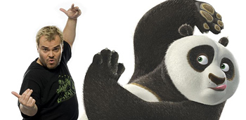 Jack Black Comparisons - More Panda Than Comedian!