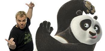 Jack Black Comparisons - More Panda Than Comedian!
