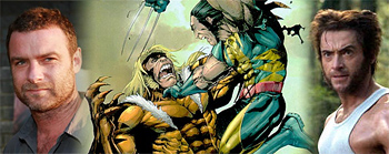 Liev Schreiber Cast as Sabretooth in X-Men Origins ... X Men Origins Sabretooth Comic