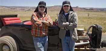 George Lucas and Steven Spielberg