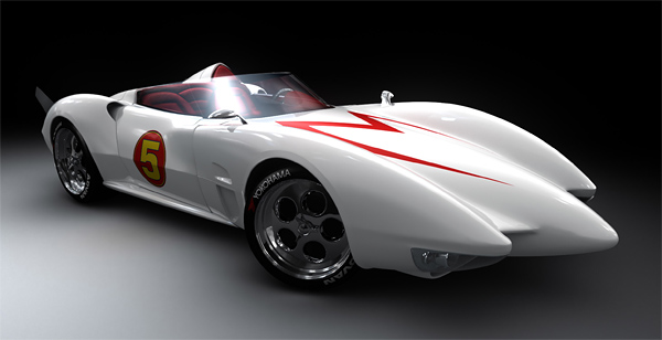 Speed Racer - Mach 5 the racing car!
