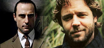 Russell Crowe as Professor Moriarty