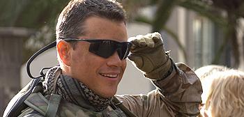 First Look: Matt Damon as CIA Agent Roy Miller in Green ...