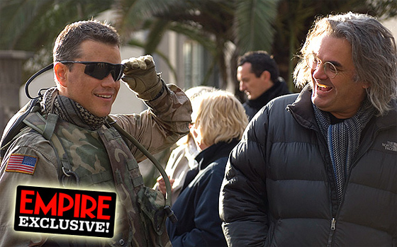 Matt Damon as CIA Agent Roy Miller in Green Zone