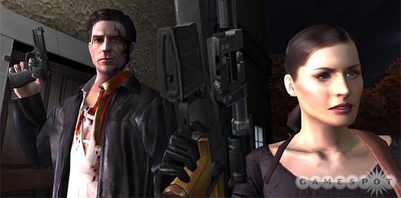 Max Payne and Mona Sax