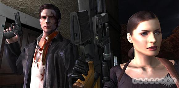 Max Payne and Mona Sax