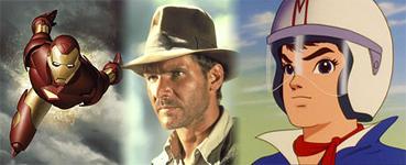 May 2008 - Iron Man, Indiana Jones, Speed Racer