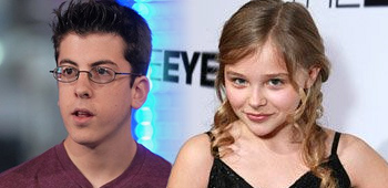 Christopher Mintz-Plasse and Chloe Moretz