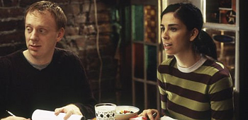 Mike White and Sarah Silverman in School of Rock
