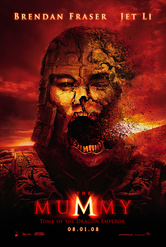 The Mummy: Tomb of the Dragon Emperor Teaser Poster