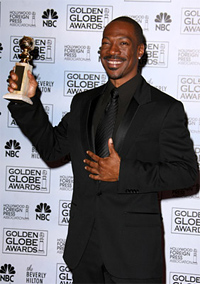 Eddie Murphy wins a Golden Globe