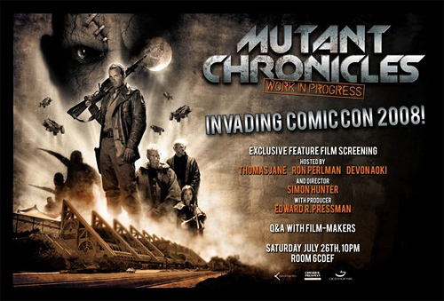 Mutant Chronicles at Comic-Con 2008