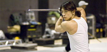 Rain Training for Ninja Assassin