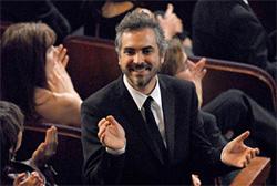 Alfonso Cuarón at the Oscars