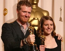 Once's Markéta Irglová and Glen Hansard win Oscars!