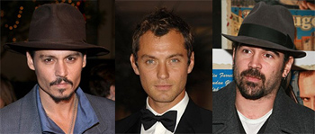 Johnny Depp & Jude Law & Colin Farrell