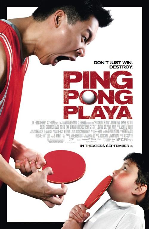 Ping Pong Playa Poster