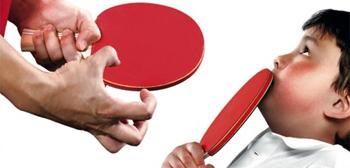 Badass Ping Pong Playa Poster