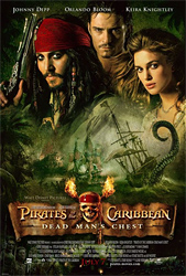 Pirates of the Caribbean 2 Poster