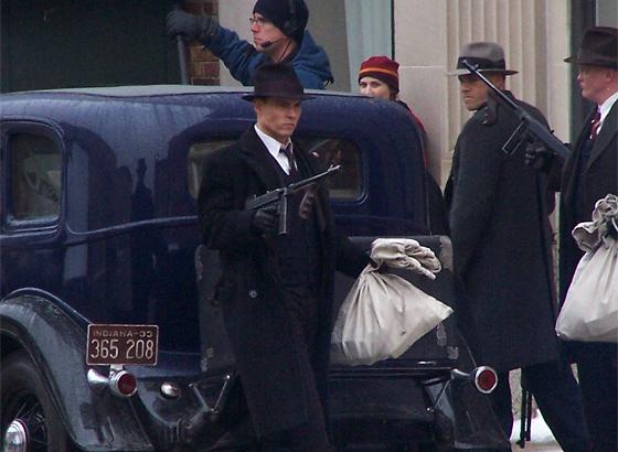 Johnny Depp in Public Enemies