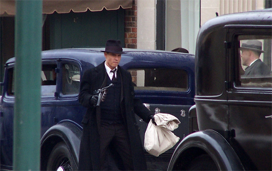 First Look: Johnny Depp as John Dillinger in Public Enemies