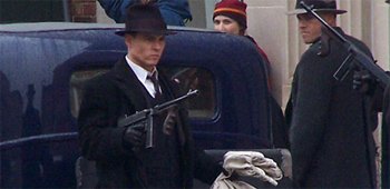 First Look: Johnny Depp as John Dillinger in Public Enemies!