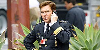 Dennis Quaid as General Hawk in G.I. Joe