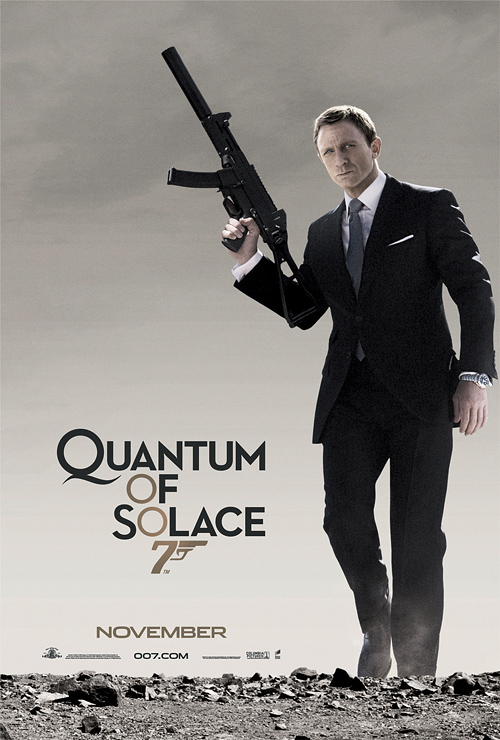 Quantum of Solace Poster