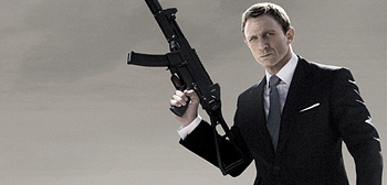 Exclusive: Brand New Quantum of Solace Teaser Poster