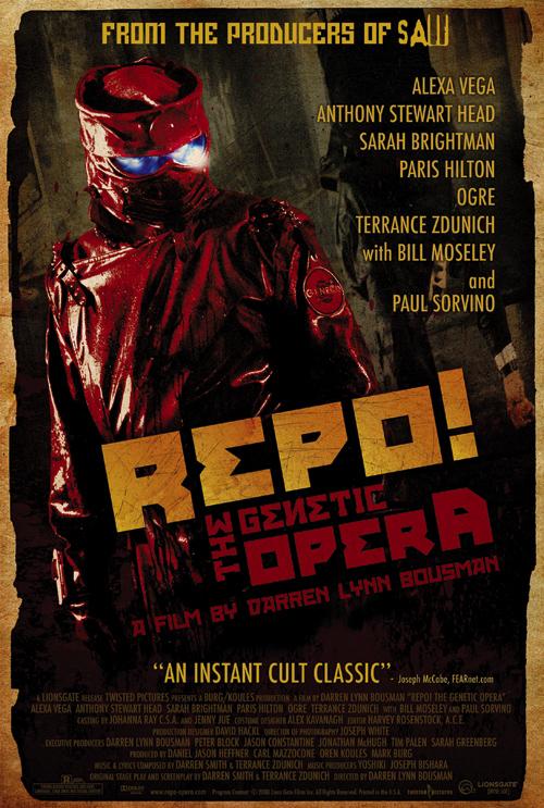 Repo! The Genetic Opera Poster