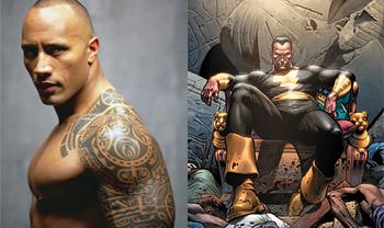 Dwayne The Rock Johnson as Black Adam
