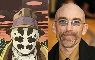 Jackie Earle Haley is Rorschach