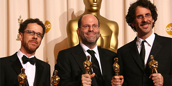 Scott Rudin and the Coen Brothers