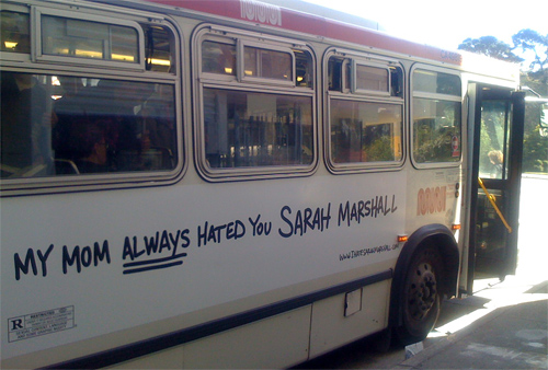 Forgetting Sarah Marshall Advertising