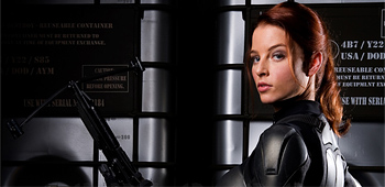 First Look: G.I. Joe's Scarlett Revealed!