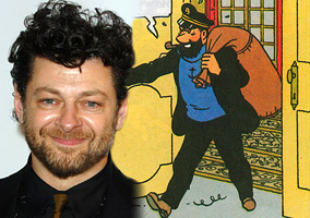 Andy Serkis in Tintin