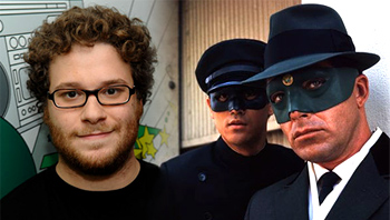 Seth Rogen writing The Green Hornet