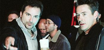 Shane Black and Robert Downey Jr