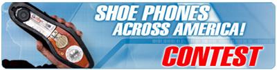 Get Smart's Shoe Phones Across America
