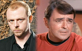 Simon Pegg is Scotty in Star Trek