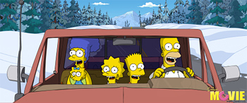 The Simpson Movie Trailer