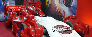 First Look: Speed Racer's Rival Race Car Revealed