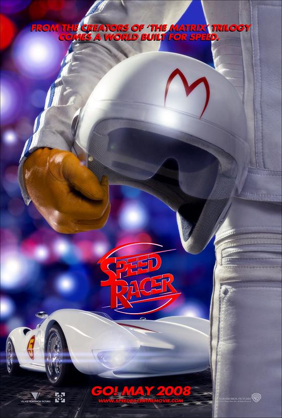 Lenticular Speed Racer Poster