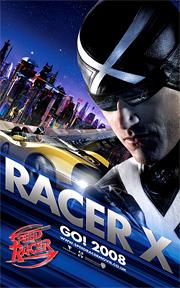 Speed Racer - Racer X Poster