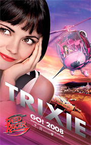 Speed Racer - Trixie Poster