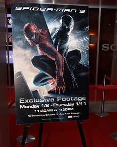 Spider-Man 3 at CES