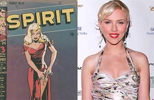 Scarlett Johansson in Frank Miller's The Spirit
