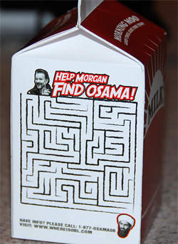 Where in the World Is Osama Bin Laden? Milk Carton