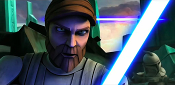 Extended Action Clip from Star Wars: The Clone Wars