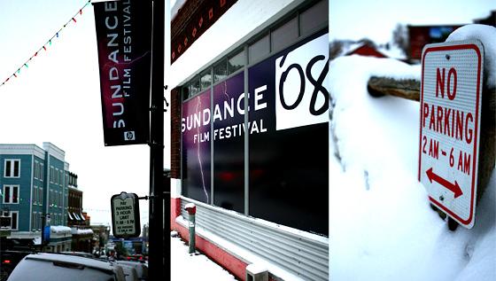 Sundance 2008 street triptych